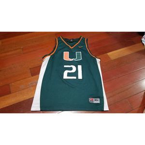 Kids youth Miami hurricanes UM Basketball jersey